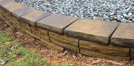 Capstone for Retaining Wall