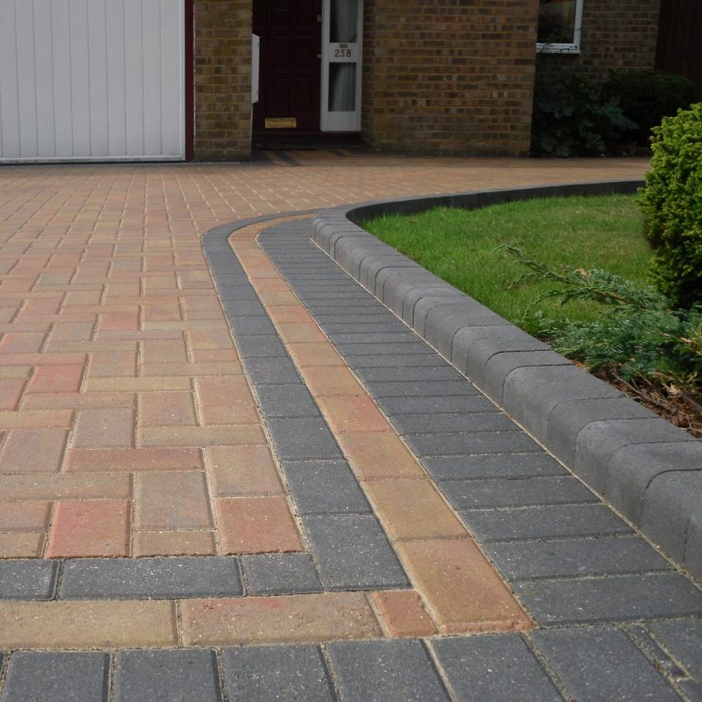 Paver Driveway in Victoria BC Landscaping