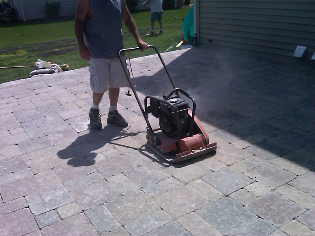Plate Compaction Landscaping Victoria BC