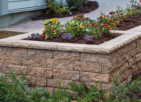 Garden Block Retaining Wall