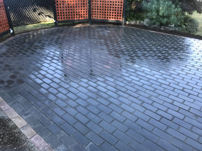 Finished Paver Patio 4