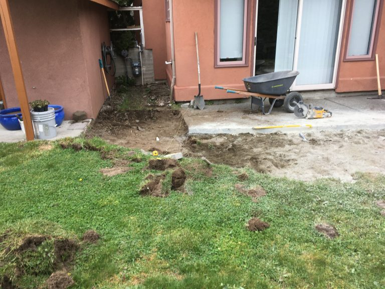 Before Paver Patio 2