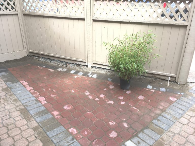 Paver Patio Installed