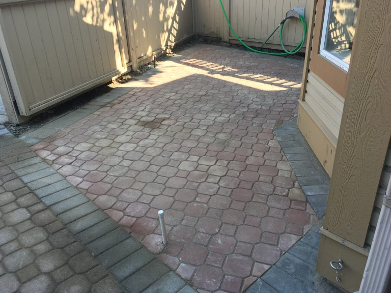Paver Patio Expansion Install
