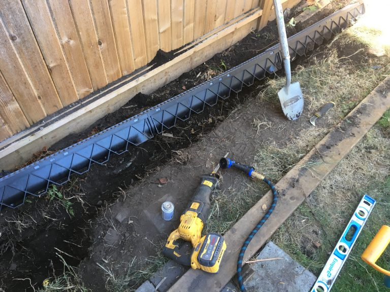 Drainage Trench