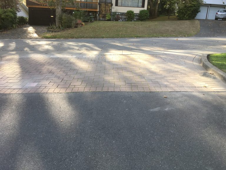 Paver Driveway Repair After